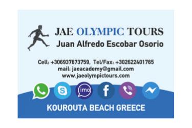 JAE OLYMPIC TOURS